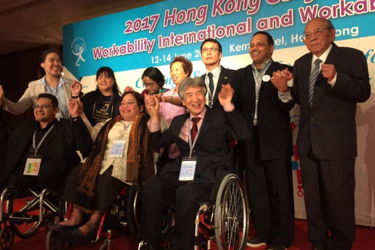 Delegates at Workability Asia, Hongkong