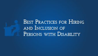 Download Best Practices for Hiring and Inclusion of Persons with Disability