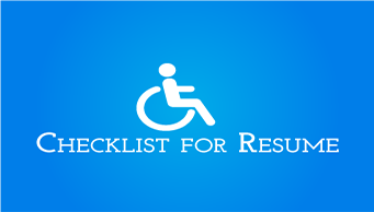 Download Resume Checklist