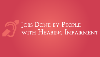 Download Deaf Working in Different Jobs