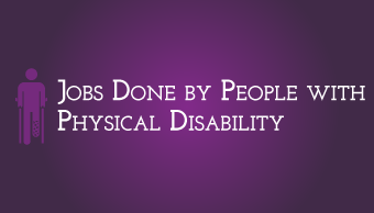 Download Physically Disabled Working in Different Jobs