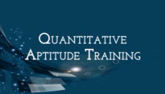 Go to Quantitative Aptitude Training