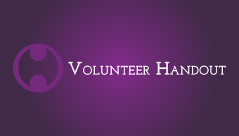 Download Volunteer Handout