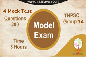 TNPSC Group 2A Mock Test