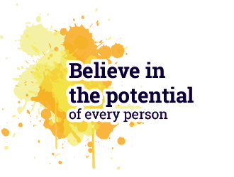 Believe in the potential of every person