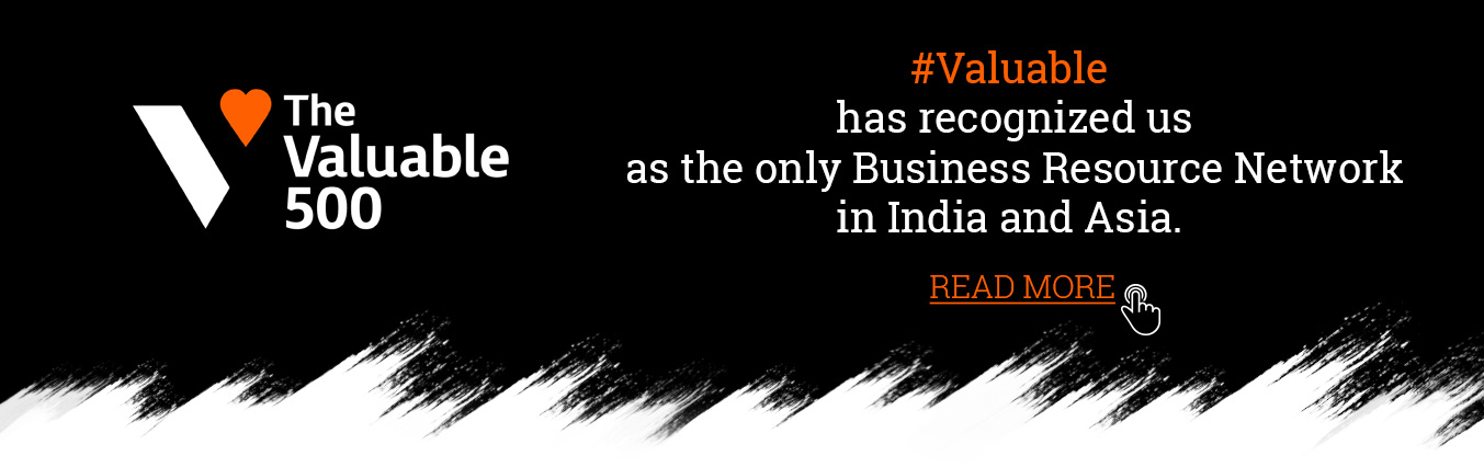 #Valuable has recognized us as the only Business Resource Network in India and Asia.