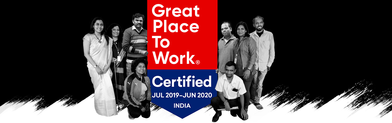 "Enable India has been certified as a "" GREAT PLACE TO WORK"""