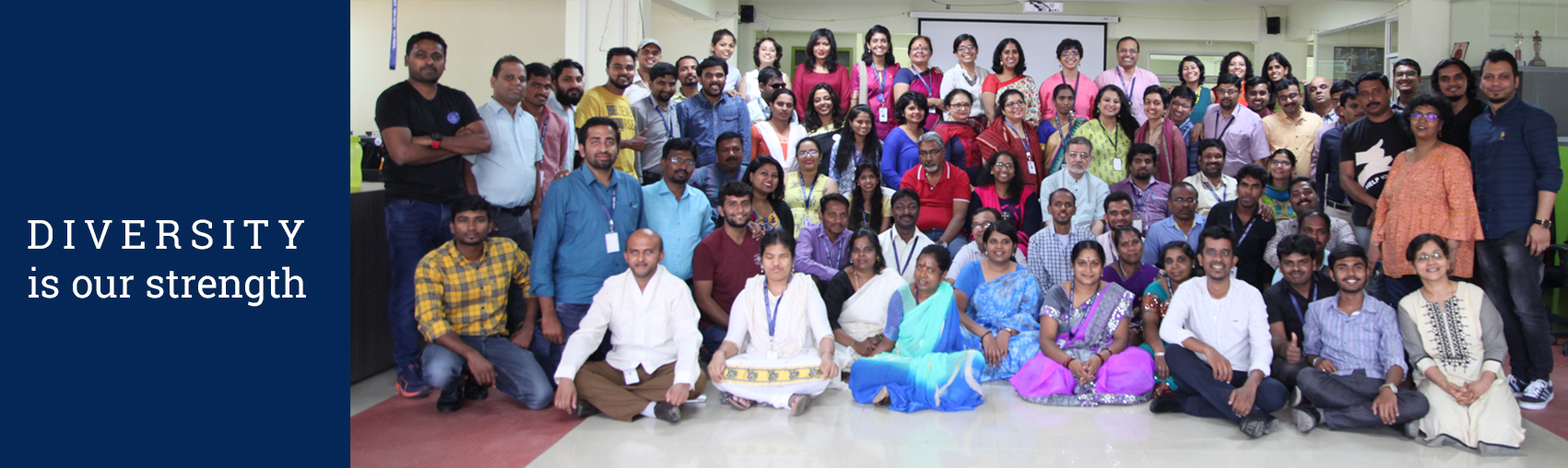 Diversity is our strength - Enable India Staff photo