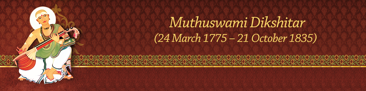 SMA Article: Muthuswamy Dikshitar - The Prolific Composer1