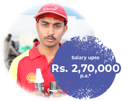 Salary upto Rs. 2,70,000 p.a.*