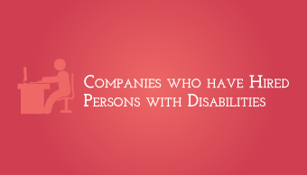 Download Companies that hire persons with disability