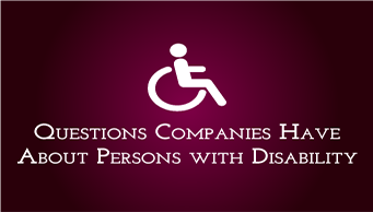 Download FAQ About Persons With Disabilities