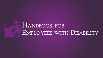 Download Handbook for Employees with Disability