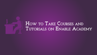 Download How to take Courses and Tutorials on Enable Academy