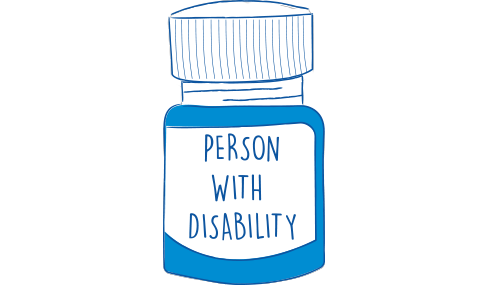 Link to persons with disability