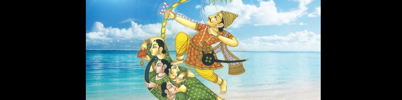 Lord Kamadeva (Manmatha) - Hindu God of Love